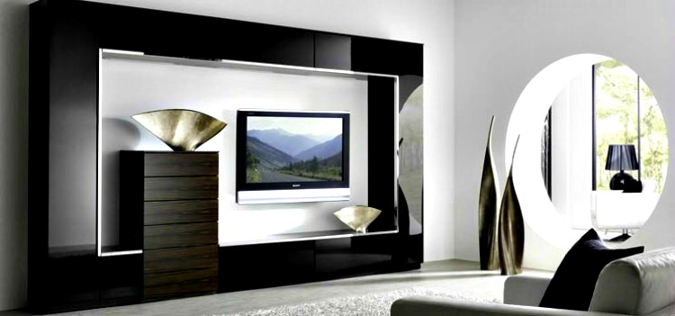 This Image Is Ultra Modern Tv Unit Wall Design And Looks Stunning. Are You  Looking For A Modern Tv Wall Unit Choose This Design As It Makes A Great ...