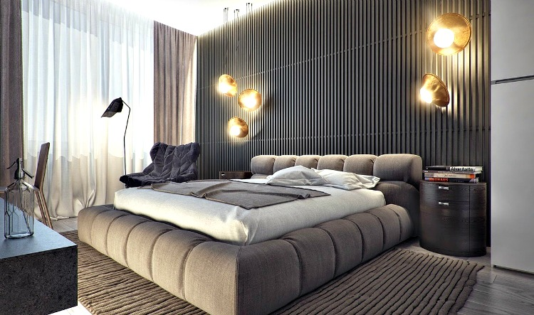 Hollywood Glam Bedroom Designs