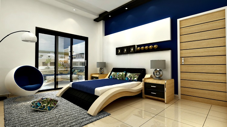 High Quality Creative Bedroom Design. In The View Of This Image You Can See A Modern  Bedroom