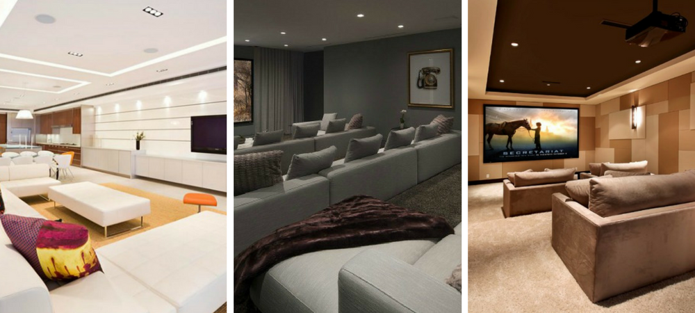 Modern Home Theatre Ideas
