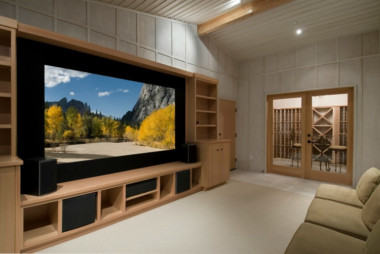 entertainment-center Home Theater Screen Design Ideas on home theater bass traps, home theater screen designs, home theater shelves, home theater curtains blue, gas grill ideas, home projector ideas,